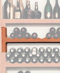 Wijnrek Cavo basis element 81