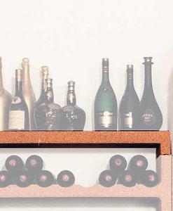 Wijnrek Cavo element afdekplaat
