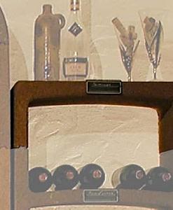 Wijnrek Cavino afdekplaat