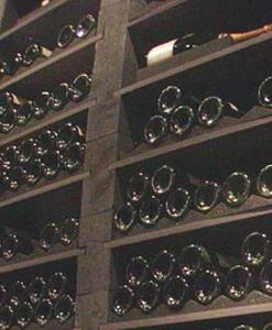 Wijnrek Black Rack legger