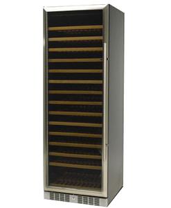 Standard Line wijnbewaarkast inox deur mono model 184
