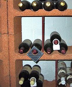 Wijnrek Cavino Tussenschot