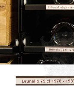 Bordeaux Collectionrack etikethouder