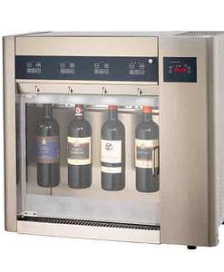 Wijn per glas voor 4 flessen